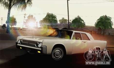 Lincoln Continental Berline (53А) 1962 (HQLM) pour GTA San Andreas