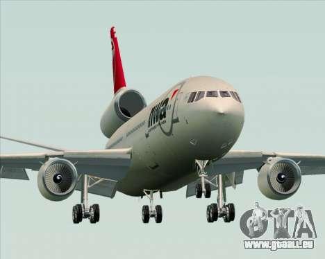 McDonnell Douglas DC-10-30 Northwest Airlines für GTA San Andreas Seitenansicht