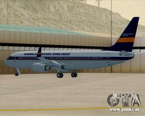 Boeing 737-800 World Travel Airlines (WTA) pour GTA San Andreas