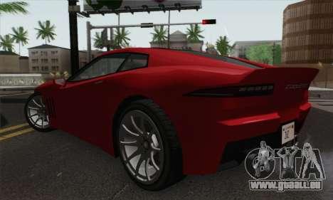 GTA 5 Invetero Coquette pour GTA San Andreas laissé vue