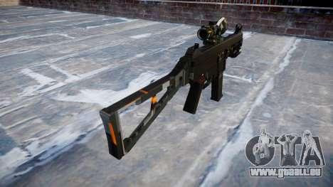 Pistolet UMP45 CE Numériques pour GTA 4 secondes d'écran
