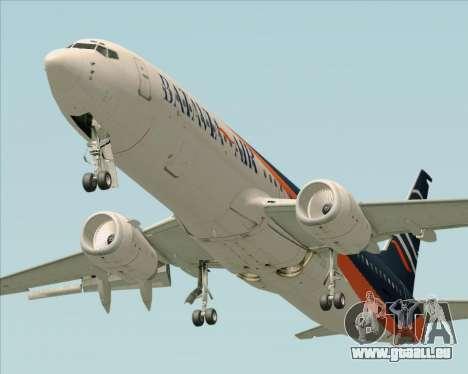 Boeing 737-800 Batavia Air (New Livery) pour GTA San Andreas laissé vue