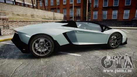Lamborghini Aventador 50th Anniversary Roadster pour GTA 4 est une gauche