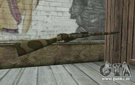 Mosin-v4 pour GTA San Andreas deuxième écran