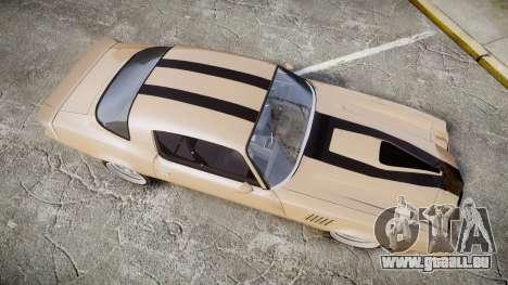 Chevrolet Camaro Z28 1979 pour GTA 4 est un droit