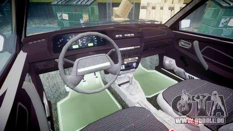 VAZ-2109 1500 i für GTA 4 Innenansicht