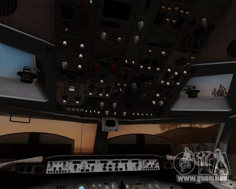 Boeing 737-800 World Travel Airlines (WTA) pour GTA San Andreas moteur