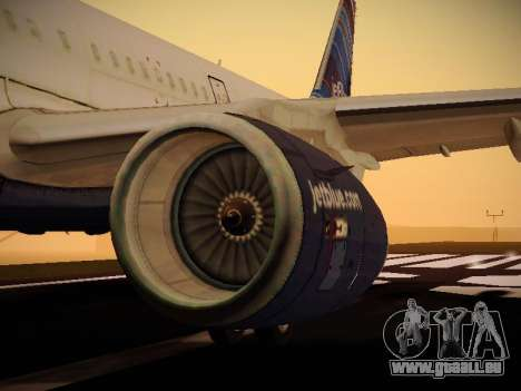 Airbus A321-232 jetBlue Red White and Blue für GTA San Andreas