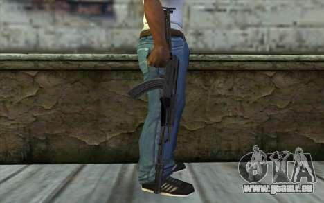 AKMS avec des SEINS pour GTA San Andreas troisième écran