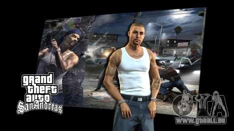 Les écrans de chargement pour GTA San Andreas