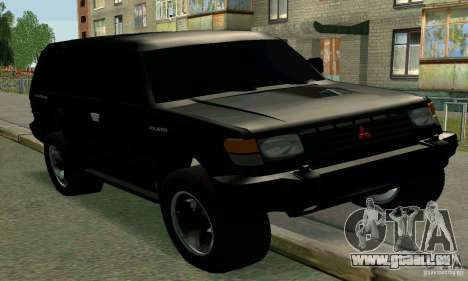 Mitsubishi Pajero Intercooler Turbo 2800 pour GTA San Andreas
