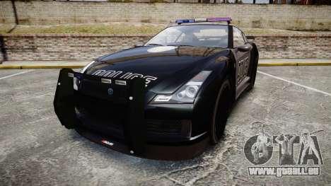 GTA V Annis Elegy RH8 Police [ELS] für GTA 4