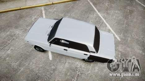 ВАЗ-2107 Avtosh Style pour GTA 4 est un droit