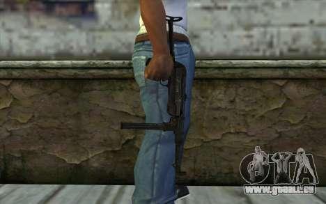 MP40 pour GTA San Andreas troisième écran