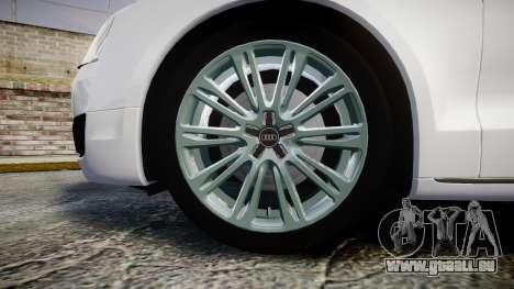 Audi A8 Limousine für GTA 4 Rückansicht