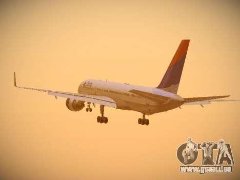 Boeing 757-232 Delta Airlines pour GTA San Andreas vue de côté