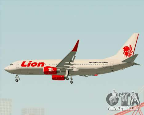 Boeing 737-800 Lion Air für GTA San Andreas Motor