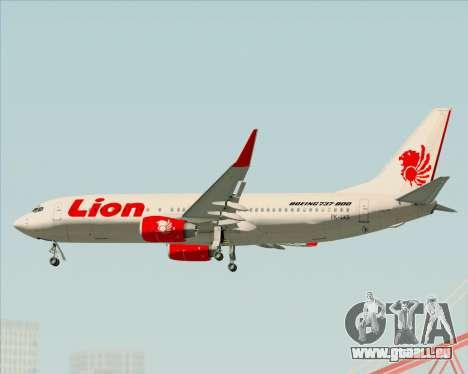 Boeing 737-800 Lion Air für GTA San Andreas Motor