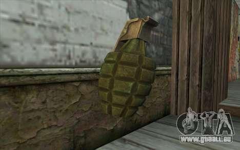 UNS Граната von Battlefield: Vietnam für GTA San Andreas zweiten Screenshot