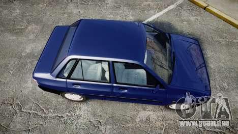 Kia Pride 132 SE pour GTA 4 est un droit
