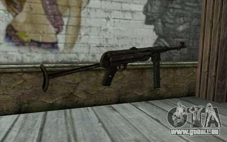 MP40 pour GTA San Andreas deuxième écran
