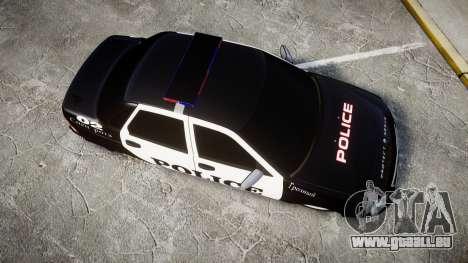 VAZ-2170 Priora Police pour GTA 4 est un droit