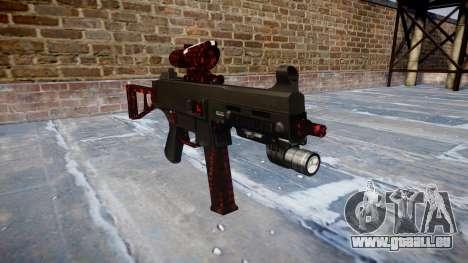 Gun UMP45 Kunst des Krieges für GTA 4