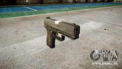 Pistole Taurus 24-7 schwarz icon3 für GTA 4