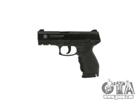 Pistole Taurus 24-7 schwarz icon2 für GTA 4 dritte Screenshot