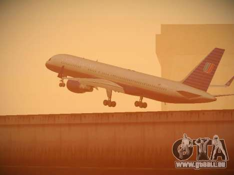 Boeing 757-224 United Airlines pour GTA San Andreas roue