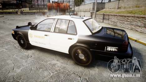 Ford Crown Victoria LASD [ELS] Slicktop für GTA 4 linke Ansicht