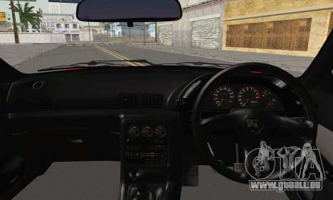 Nissan Skyline GT-R32 für GTA San Andreas zurück linke Ansicht