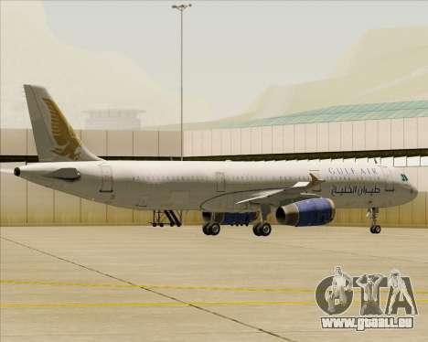 Airbus A321-200 Gulf Air für GTA San Andreas