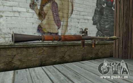 РПГ-7В von Battlefield: Vietnam für GTA San Andreas zweiten Screenshot
