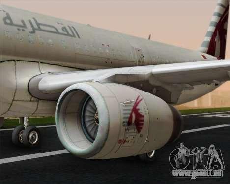 Airbus A321-200 Qatar Airways pour GTA San Andreas moteur