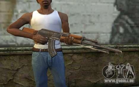Тип 56 (АКМ) de Battlefield: Vietnam pour GTA San Andreas troisième écran