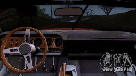 Dodge Challenger 426 Hemi (JS23) 1970 (HQLM) für GTA San Andreas rechten Ansicht