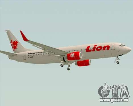 Boeing 737-800 Lion Air pour GTA San Andreas vue de côté