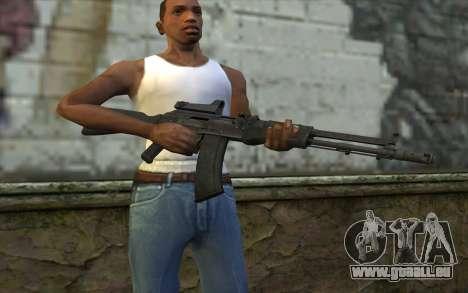 AK-107 für GTA San Andreas dritten Screenshot