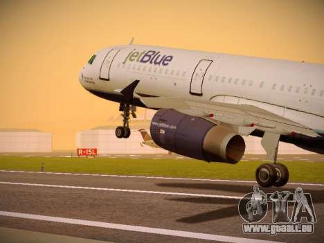 Airbus A321-232 Lets talk about Blue pour GTA San Andreas