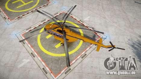 Mi-8 für GTA 4 rechte Ansicht