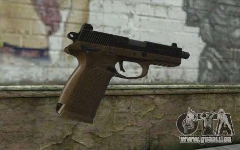 FN FNP-45 Sans Silencieux pour GTA San Andreas deuxième écran
