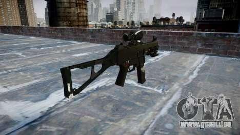Gun UMP45 Geister für GTA 4 Sekunden Bildschirm
