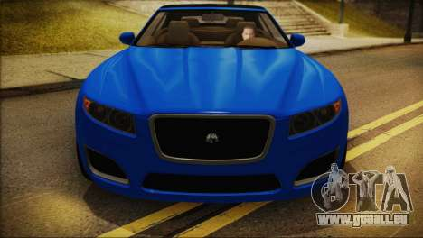Lampadati Felon GT (IVF) für GTA San Andreas zurück linke Ansicht
