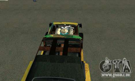Dodge Charger HL2 EP2 pour GTA San Andreas sur la vue arrière gauche