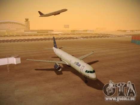 Airbus A321-232 Lets talk about Blue für GTA San Andreas Unteransicht