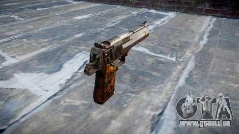Pistolet Desert Eagle Dragon pour GTA 4 secondes d'écran