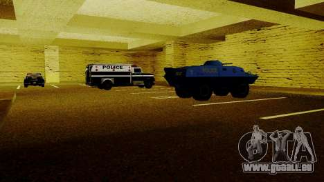 Neue Fahrzeuge im LSPD für GTA San Andreas fünften Screenshot