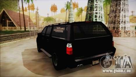 GTA 5 FIB Granger für GTA San Andreas linke Ansicht