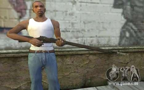 Die Gewehre Mosin-v6 für GTA San Andreas dritten Screenshot